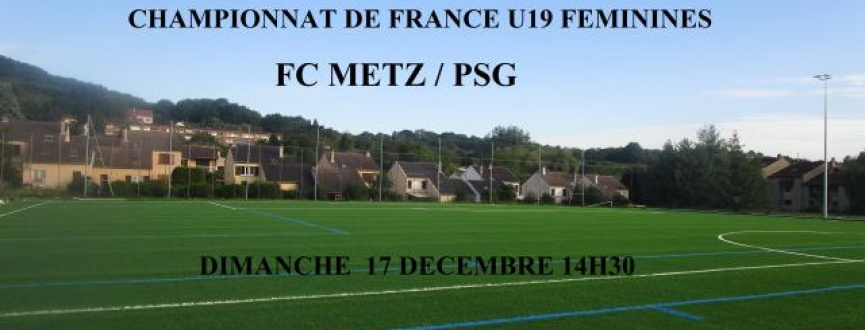 Metz-PSG U19 féminines